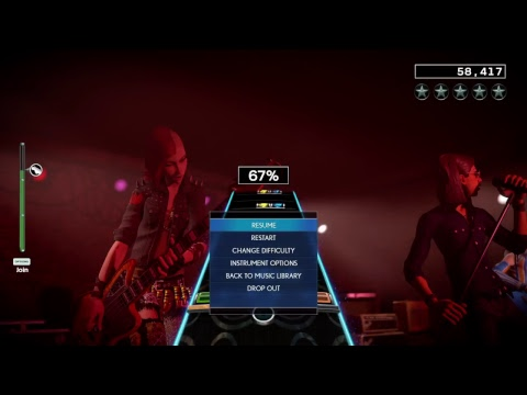 Rock Band 4 (Not good yet)