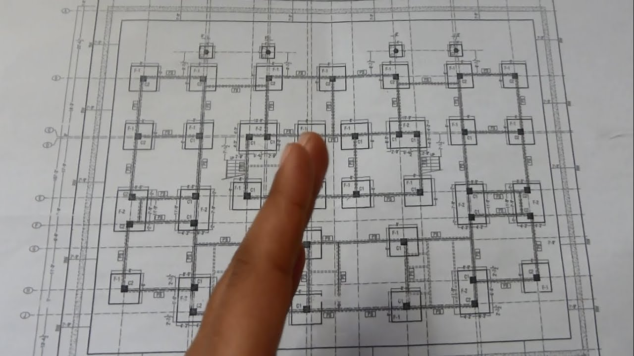 How To Read Building Foundations Drawing Plans