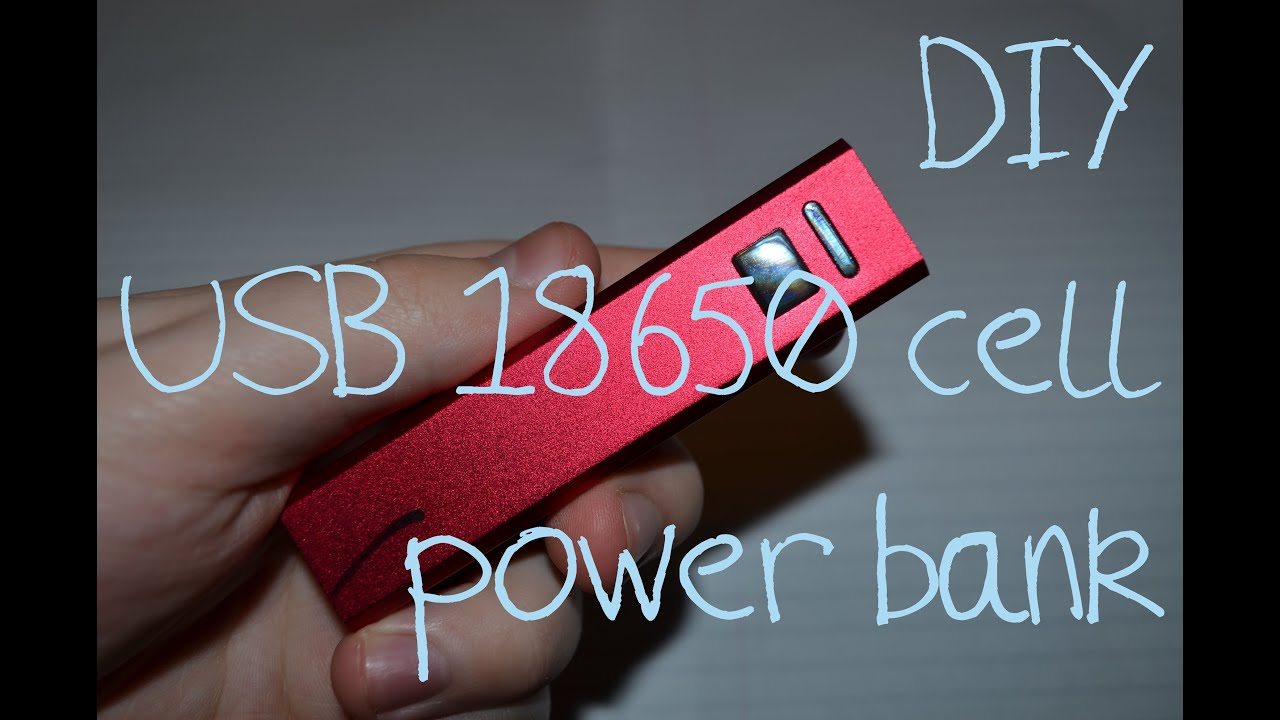 diy 18650 usb power bank 1min look youtube. Black Bedroom Furniture Sets. Home Design Ideas