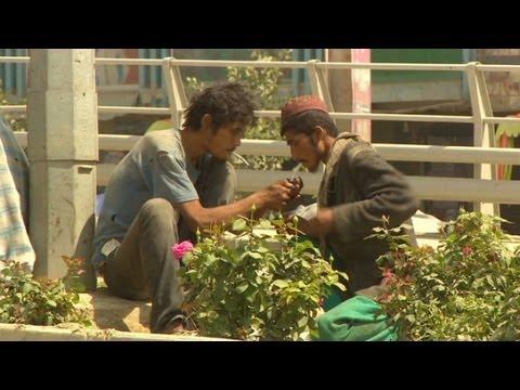 Drug addiction rampant on Kabul streets