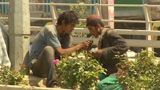 Drug addiction rant on Kabul streets