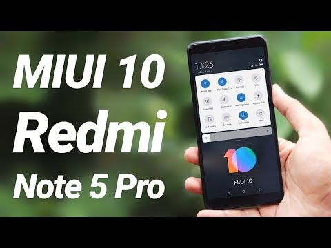 MIUI 10 on Redmi Note 5 Pro First Look