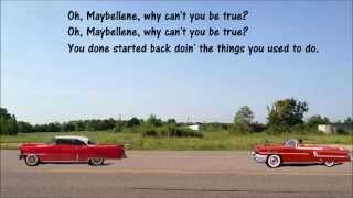 Maybelline Chuck Berry With Lyrics