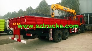 How to buy Dongfeng 12Tons truck mounted crane?