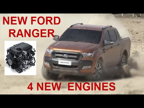 2015 2016 Ford Ranger Reveal Part3 New Engines Youtube