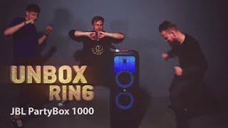 TŪSAI, VAKARĖLIAI, FIESTOS  2!   JBL PartyBox 1000   Unbox Ring apžvalga