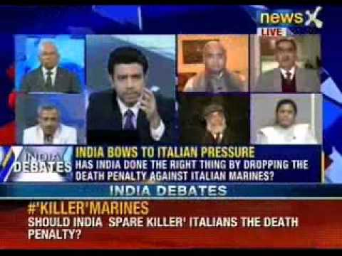 Has India done the right thing by dropping the death penalty against Italian Marines ?