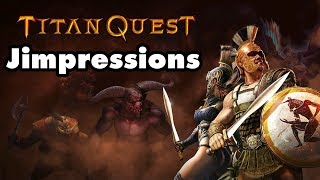 Titan Quest On Switch  - Crash Of The Titans (Jimpressions) (Video Game Video Review)