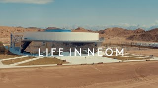 Florian Lennert, Head of Mobility at #NEOM discusses sustainable mobility on THE LINE. #LifeinNEOM
