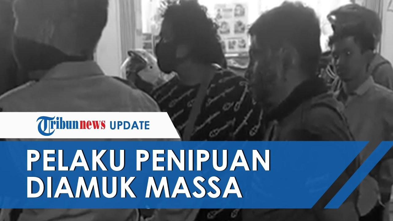 Video Pria Di Semarang Babak Belur Dihakimi Massa Diduga Penipuan