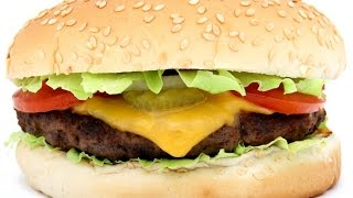 Как сделать гамбургер дома.