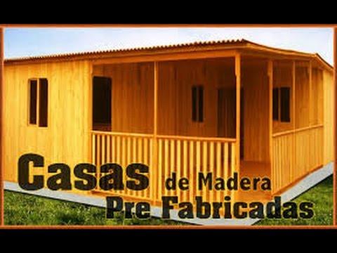 Casas prefabricadas en arequipa casas de madera oficinas juliaca puno cusco youtube - Refugios de madera prefabricados ...