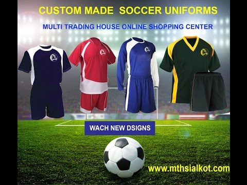 Buy Custom made soccer jerseys cheap uniforms, custom team soccer jerseys online shopping