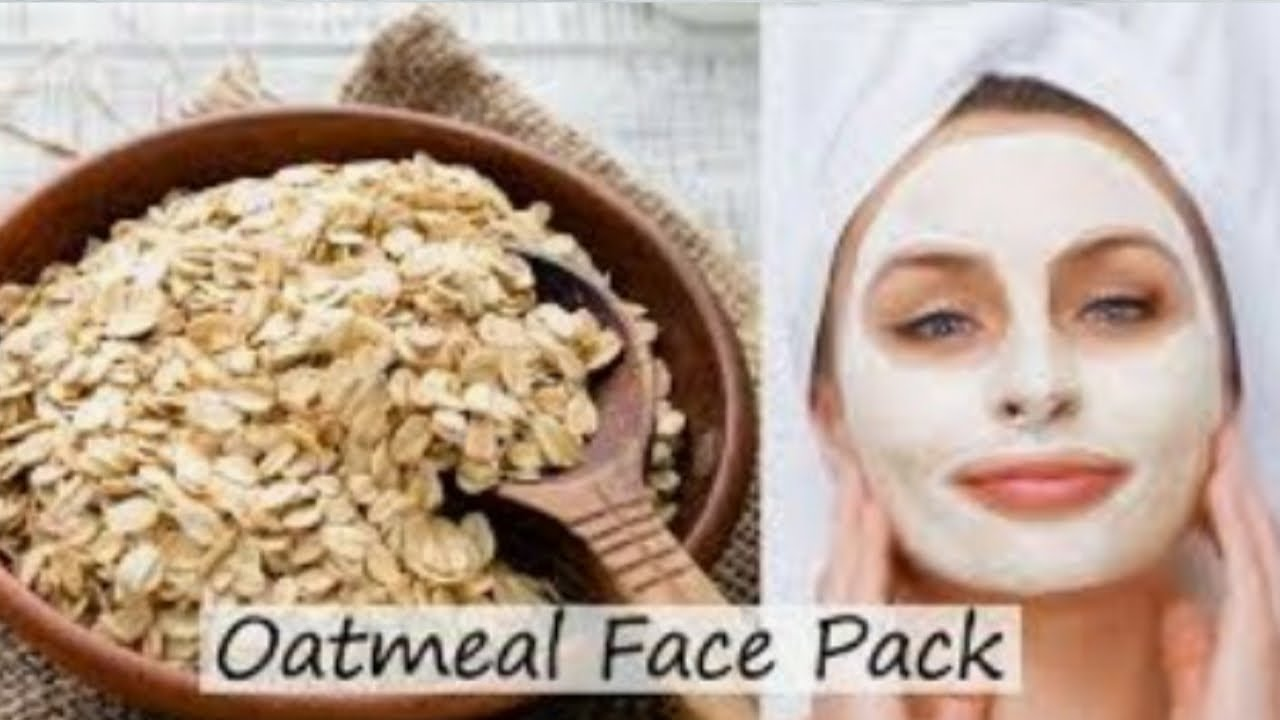 Oats Face Pack For Glowing Skin in Tamil / Beauty Tips in Tamil