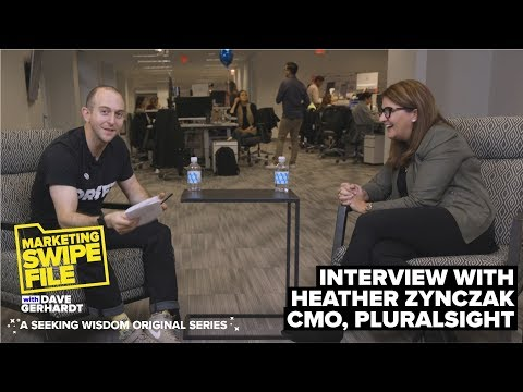 The Three Paths To Becoming A CMO With Heather Zynczak   The Marketing Swipe File Podcast