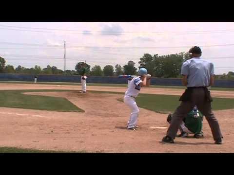 Jordan Litke - 1-hit shutout - Slammers Coyote vs. Rhino Baseball - 03Jul2015