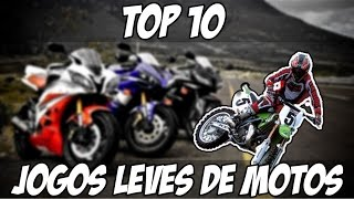 TOP10 : Jogos Leves de Motos Para PC Fraco (+Downloads seguros)