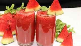 एक बार ऐसे बनाये गर्मियों मे तरबूज का शरबत स्वाद ऐसा की आप रोज़ बनाकर पीयेंंगे | Watermelon Shake.