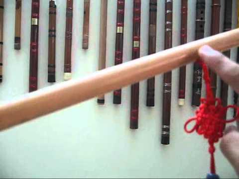 Sáo trúc cơ bản - Giới thiệu các lỗ trên sáo - Viet Nam Bamboo Flute