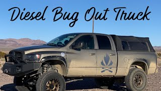 Green Beret Mike Glover 4x4 Diesel Bug Out Truck