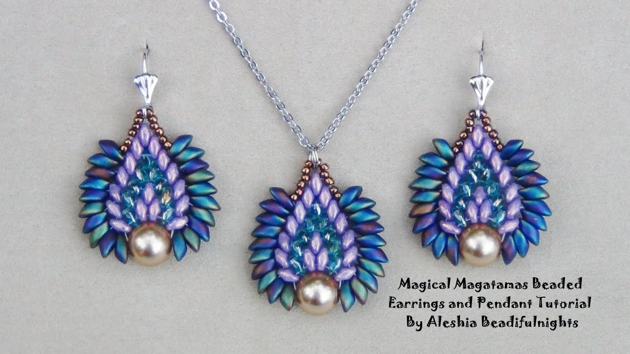 il bead listing beading patterns jewellery and tutorial beaded earrings earring fullxfull pinwheel superduo tutorials beadweaving