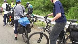 2009 год. Поездка на велосипедах на мыс Гамов