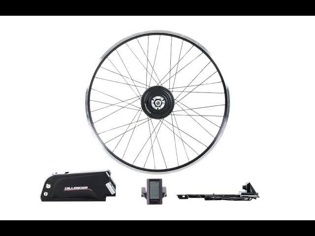 Installing An Electric Bike Conversion Kit Dillenger Samsung Street Series Front Hub Motor Youtube