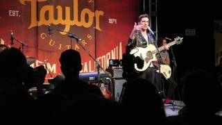 Andy Grammer Taylor Booth NAMM 2017