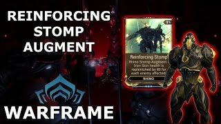 Warframe - Quick Look At Reinforcing Stomp