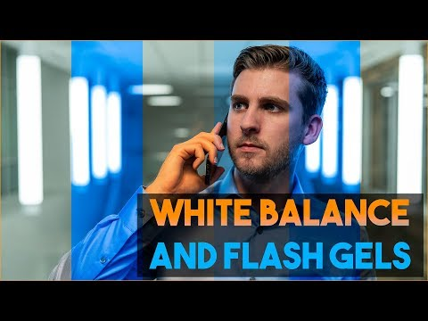 Color Temperature Tutorial with Correction Gels for Flash Photography thumbnail