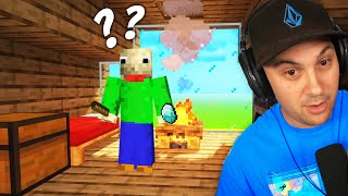 I Caught A YOUTUBER Living In My Minecraft House!