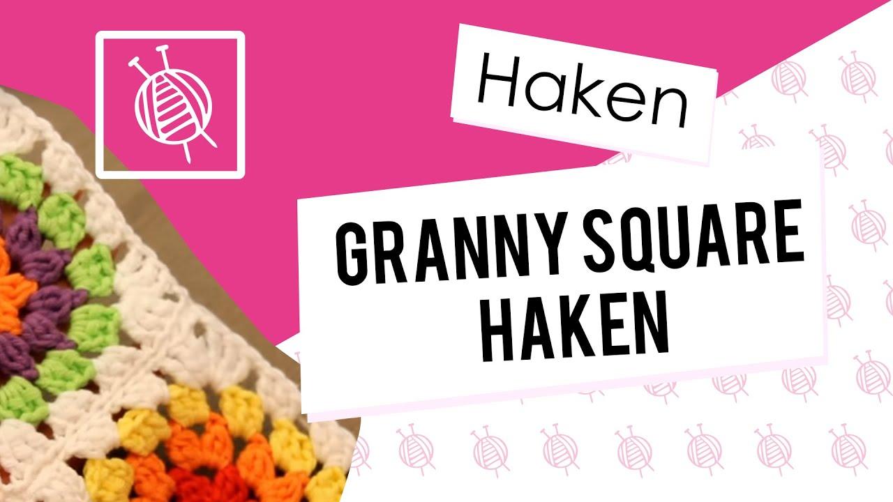 Keukenkasten Organiseren Granny Square Haken Youtube