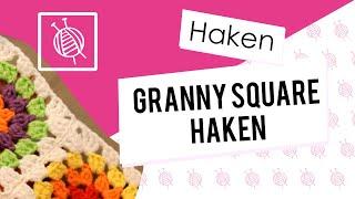 Repeat youtube video Granny square haken