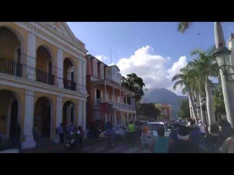 Downtown Puerto Plata Dominican Republic