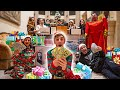 Opening 100 Mystery Christmas Presents! $10,000 is hidden ...