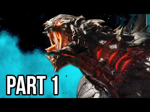 Evolve Gameplay Walkthrough - Part 1 - MONSTER DOMINATION!! PC 1080p HD