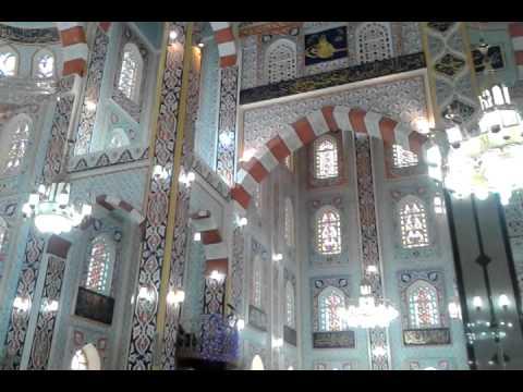 Beautiful Erbil Grand Masjid Inside View 2014