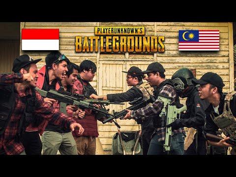 PUBG | Indonesia Vs Malaysia In Real Life