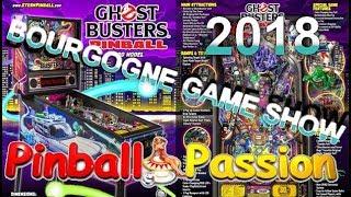 BOURGOGNE GAME SHOW 2018! JAMAIS VU AUTANT DE FLIPPER DE MA VIE AU M²!!!!