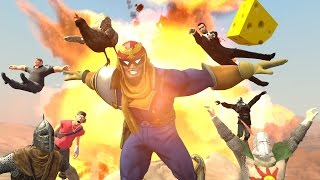 A Day At The Office With Captain Falcon
