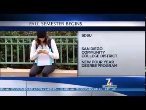 KNSD-SD: San Diego Community Colleges Open New Semester