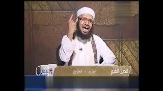 البخاري يروي حديثا يجعل الشيخ الوهابي يفقد عقله ويسب ويشتم المتصل الشيعي !!.