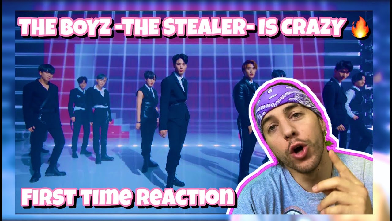 FIRST TIME REACTING to THE BOYZ(더보이즈) 'THE STEALER' MV #theboyz #더보이즈 #thestealer