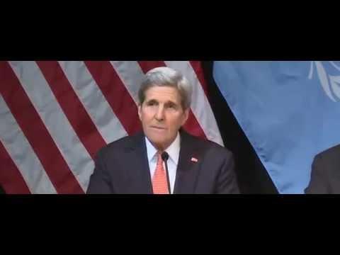 Джон Керри выразил благодарность Лаврову за вклад в урегулирование сирийского кризиса