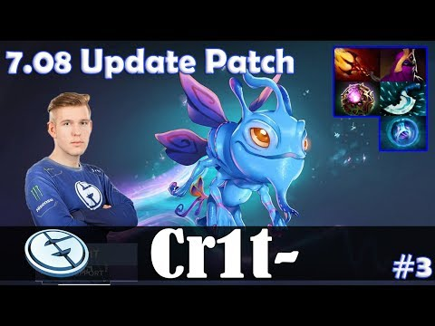 Crit - Puck MID | 7.08 Update Patch | Dota 2 Pro MMR Gameplay #3