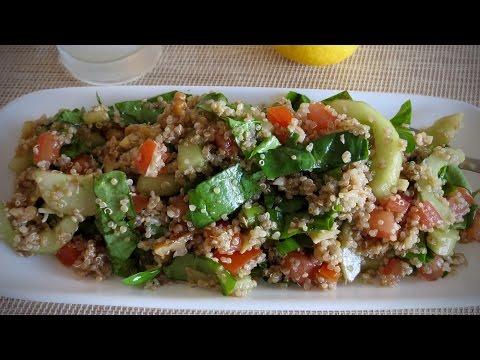 Quinoa recipe with balsamic vinegar