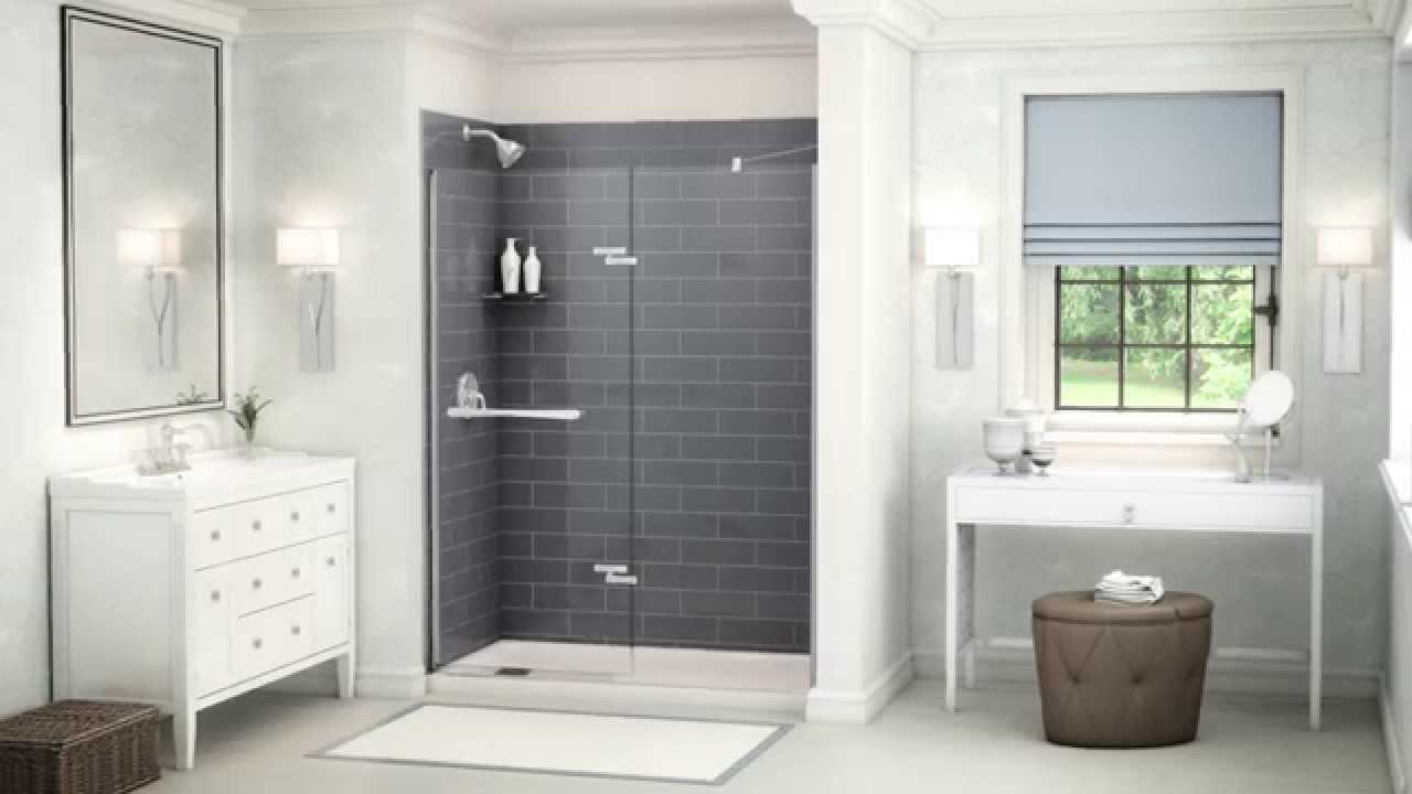 murs de douche et panneaux maax