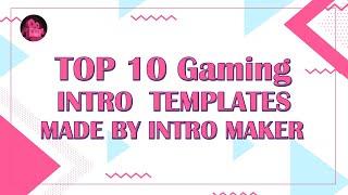 Free Gaming Intro Maker