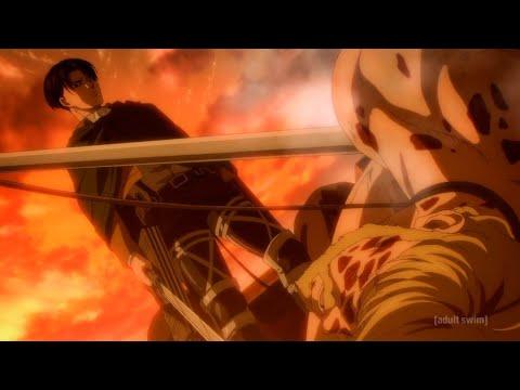 Download Levi Chops Up Zeke English Dub! Attack On Titan Season 4 Episode 14 English Dubbed