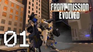 ★ Front Mission Evolved - Walkthrough - Part 1 [HD][PC/PS3/360]